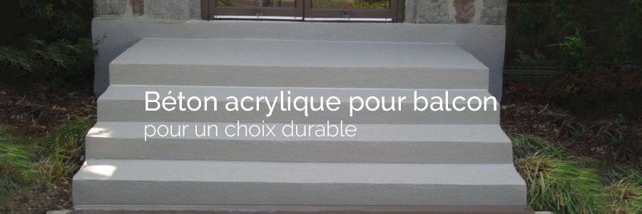 R paration balcon de b ton ou ciment surfaceur de b ton for Recouvrement de balcon exterieur