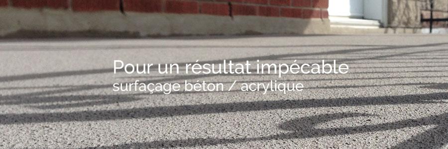 R paration balcon de b ton ou ciment surfaceur de b ton for Enduit acrylique exterieur