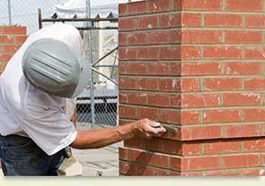 Balcons de maçonnerie de briques
